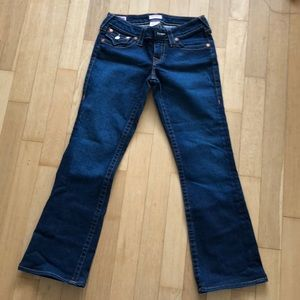 True Religion Becky Petite Bootcut Jeans